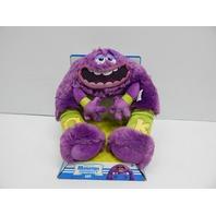"Disney 23550 Monsters Inc University Art 13"" Purple Plush Toy, Medium"
