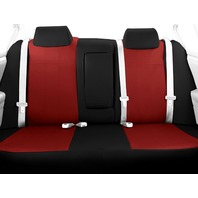 CalTrend Rear Row 40/60 Split Back & Solid Seat Cover, Fits Toyota Corolla