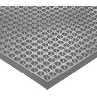 "Ergomat EPDM Laboratory Rubber Chemical Resistant Mat, 3'Wx10'Lx0.43""T, Gray"