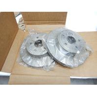 ACDelco 18A2656A Advantage Non-Coated Rear Disc Brake Rotor, Set of 2