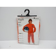 Charades CH005892_XS Orange Astronaut Suit Kids Costume, X-Small