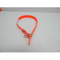"The Perfect Pet Products by Bihlerflex Cut to Length Dog Collar, 1 x 12"" Orange"