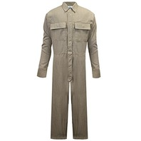 National Safety Apparel SPXDWCA02013XLN Carbon Comfort FR Coverall, 3XL, Tan