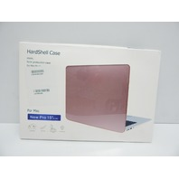 soundmae A1707 MacBook Pro 15 2in1 Ultra Slim Protector Case Metallic Matte Pink