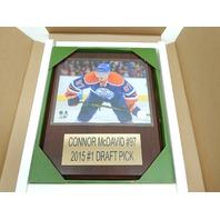 "NHL 1215MCDAVID Edmonton Oilers Conner Mcdavid Player Plaque, 12""x15"""