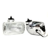 """Delta Lights 01-8539-50CX 850H Series 9"""" X 5"""" 100W Xenon Fog Light Kit, Chrome"""
