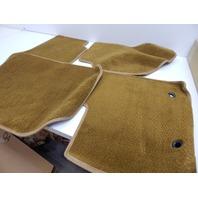 Premier 762901-22 4pc Carpet Floor Mats for Ford & Lincoln Nylon, Caramel OPENED
