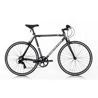 Micargi RD-7-57-BK Road Bike 700C 57cm Aluminum Frame Bicycle, Black SCRATCHES