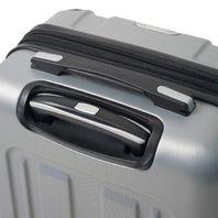 Mia Toro Italy M1303-CHA Acerra Hardside 3pc Spinner Luggage Suitcase, Champagne