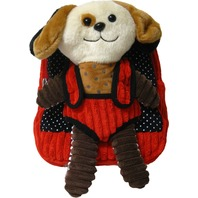 Kreative Kids 82021 Puppy Plush Backpack w/ Removable 2 Sided Stuffed Animal