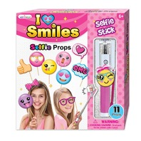 Hot Focus 226EM Selfie Photo Stick & Picture Props, Emoji Great Stocking Stuffer
