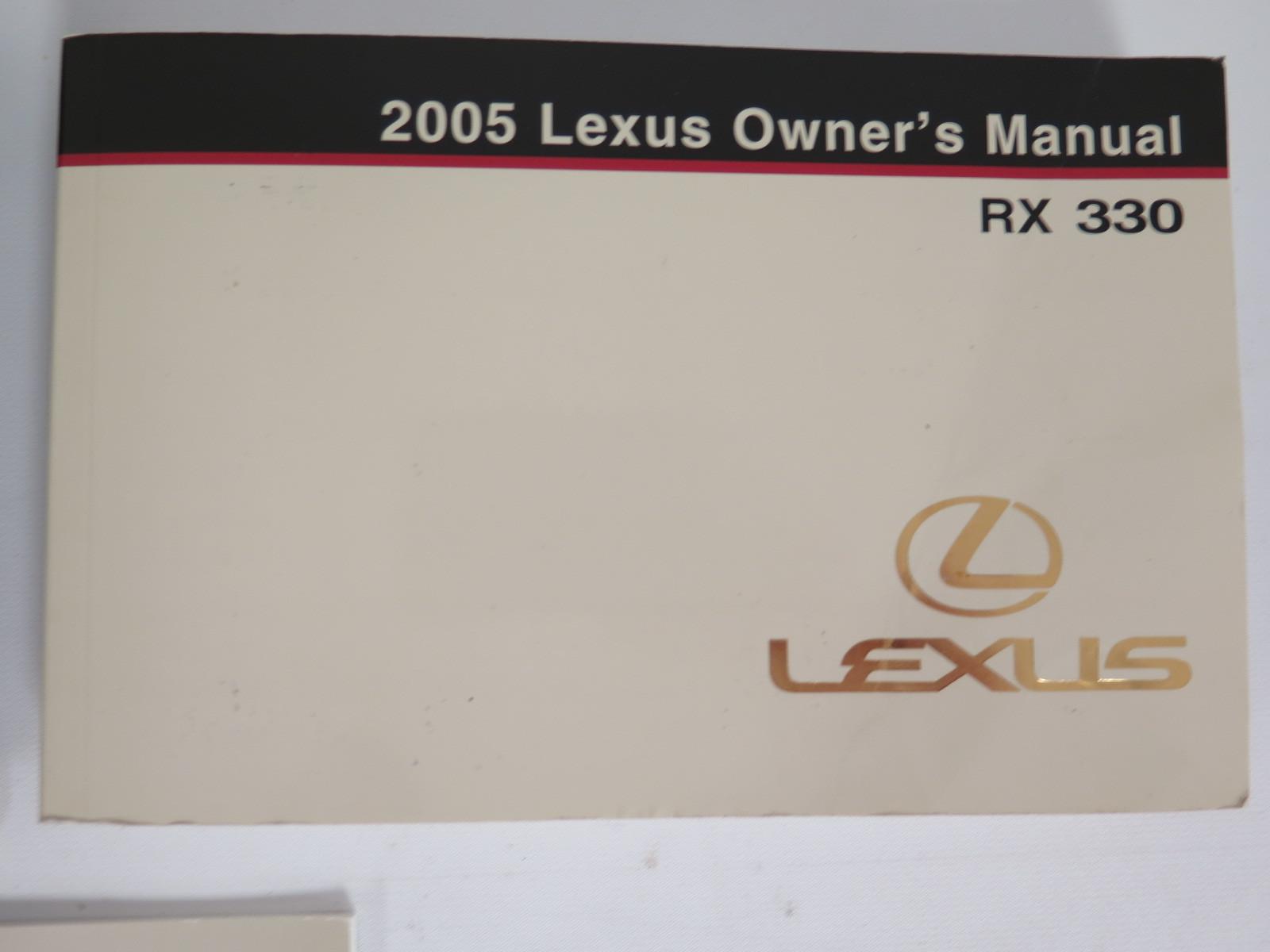 2005 lexus rx 330 owners manual book bashful yak rh bashfulyak com 2005 lexus rx330 owners manual pdf 2005 lexus es 330 owners manual pdf