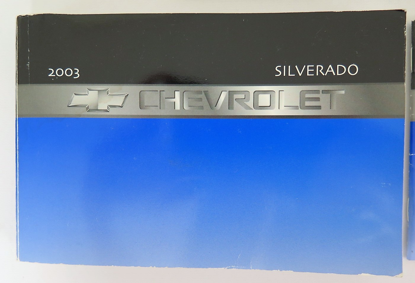 2003 chevy chevrolet silverado owners manual guide book