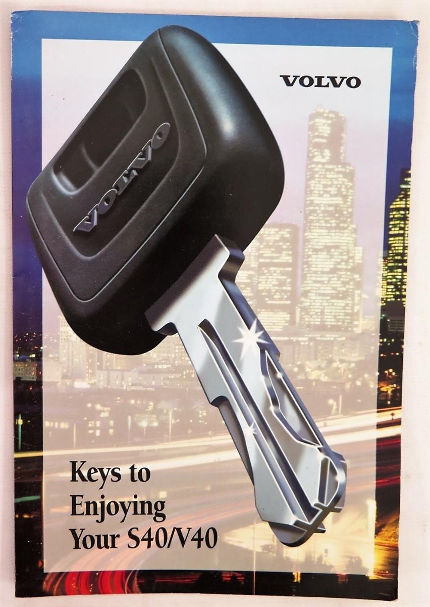 2001 volvo s40 v40 owners manual book bashful yak rh bashfulyak com 2001 volvo s40 repair manual free download 2001 volvo s40 repair manual