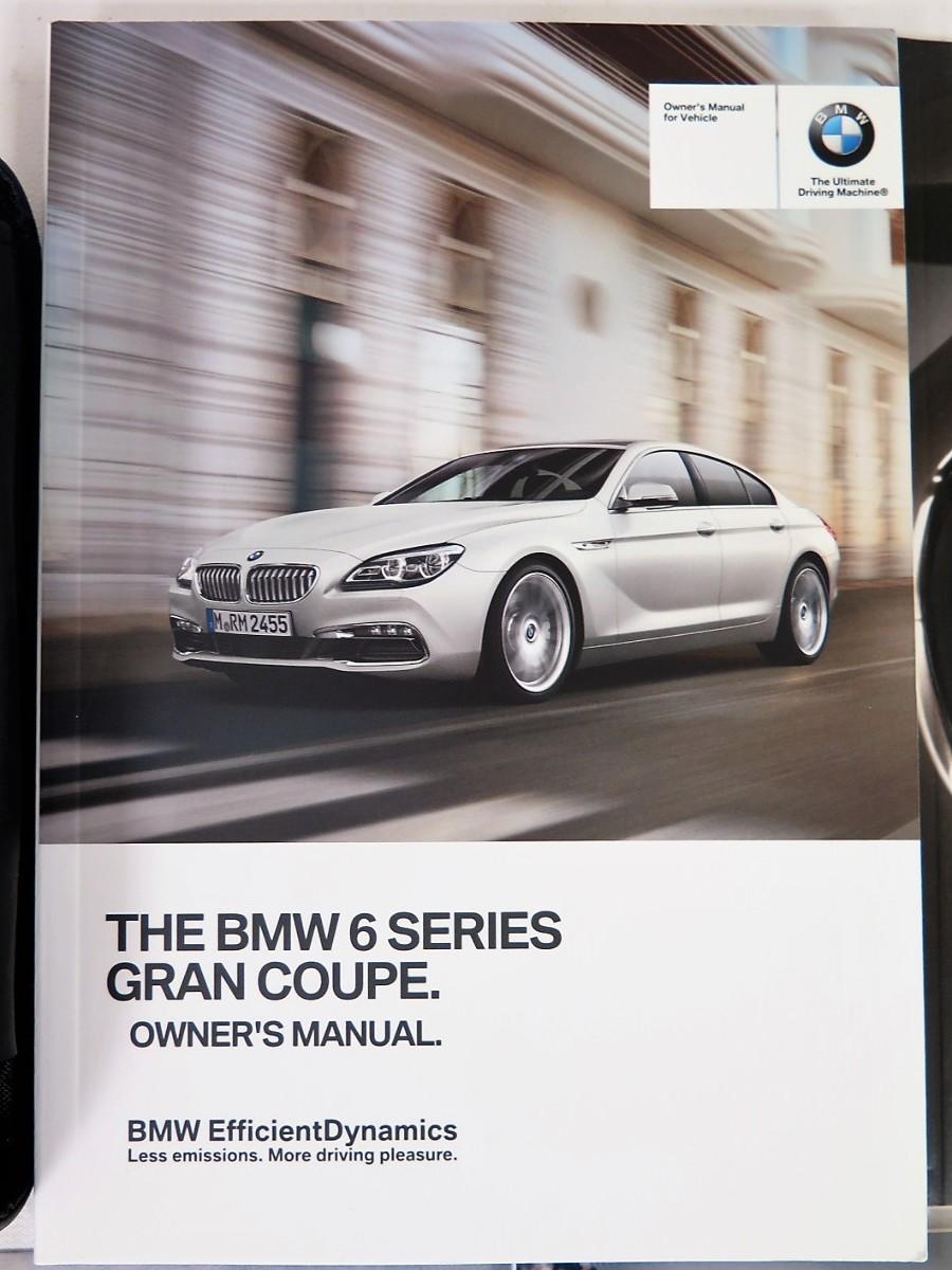 Bmw 6 Series Owners Manual Car Ebay 5 2016 Gran Coupe 640i 650i Xdrive Book Rh Bashfulyak Com 2012 3 Free Download