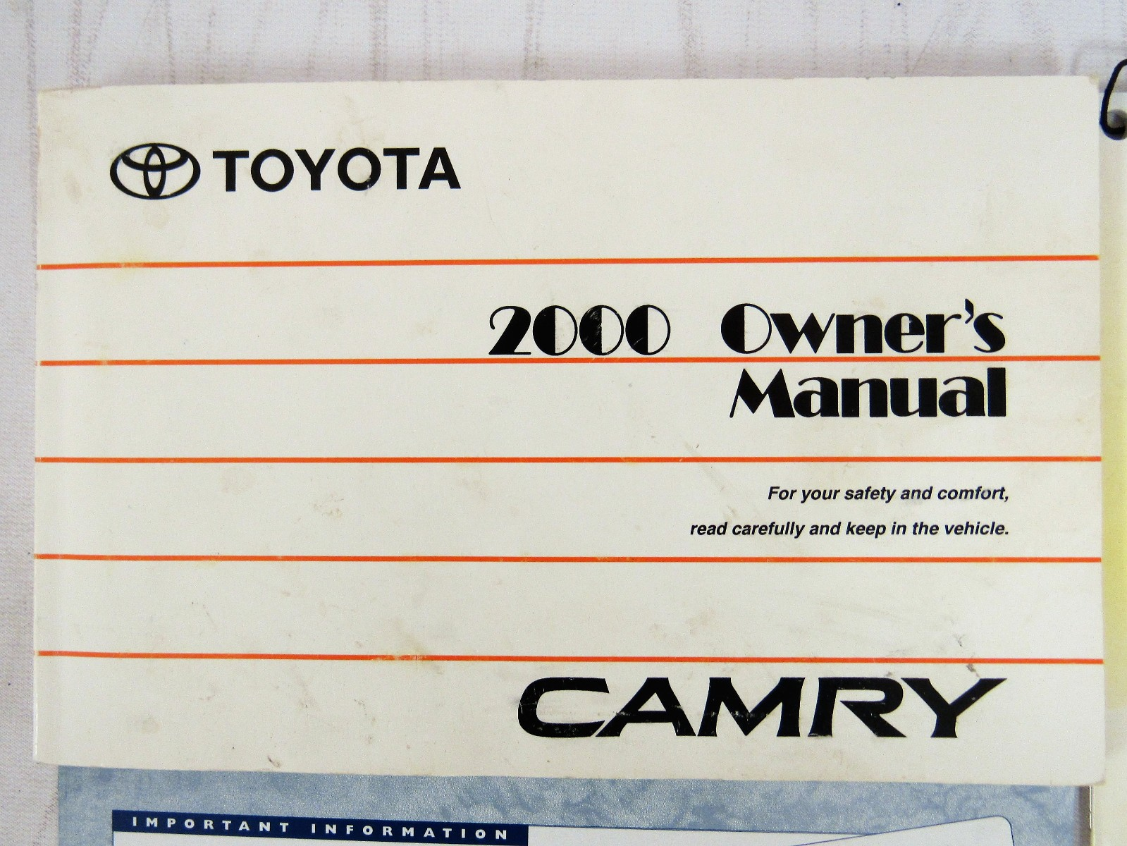 2000 toyota camry owners manual book bashful yak rh bashfulyak com 2000 toyota camry service manual download 2000 toyota camry factory service manual