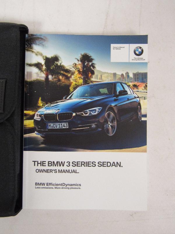 2017 bmw 320i 328d 330i 330e 340i xdrive sedan owners manual book rh bashfulyak com bmw 320i owners manual 2014 bmw 320i user manual pdf