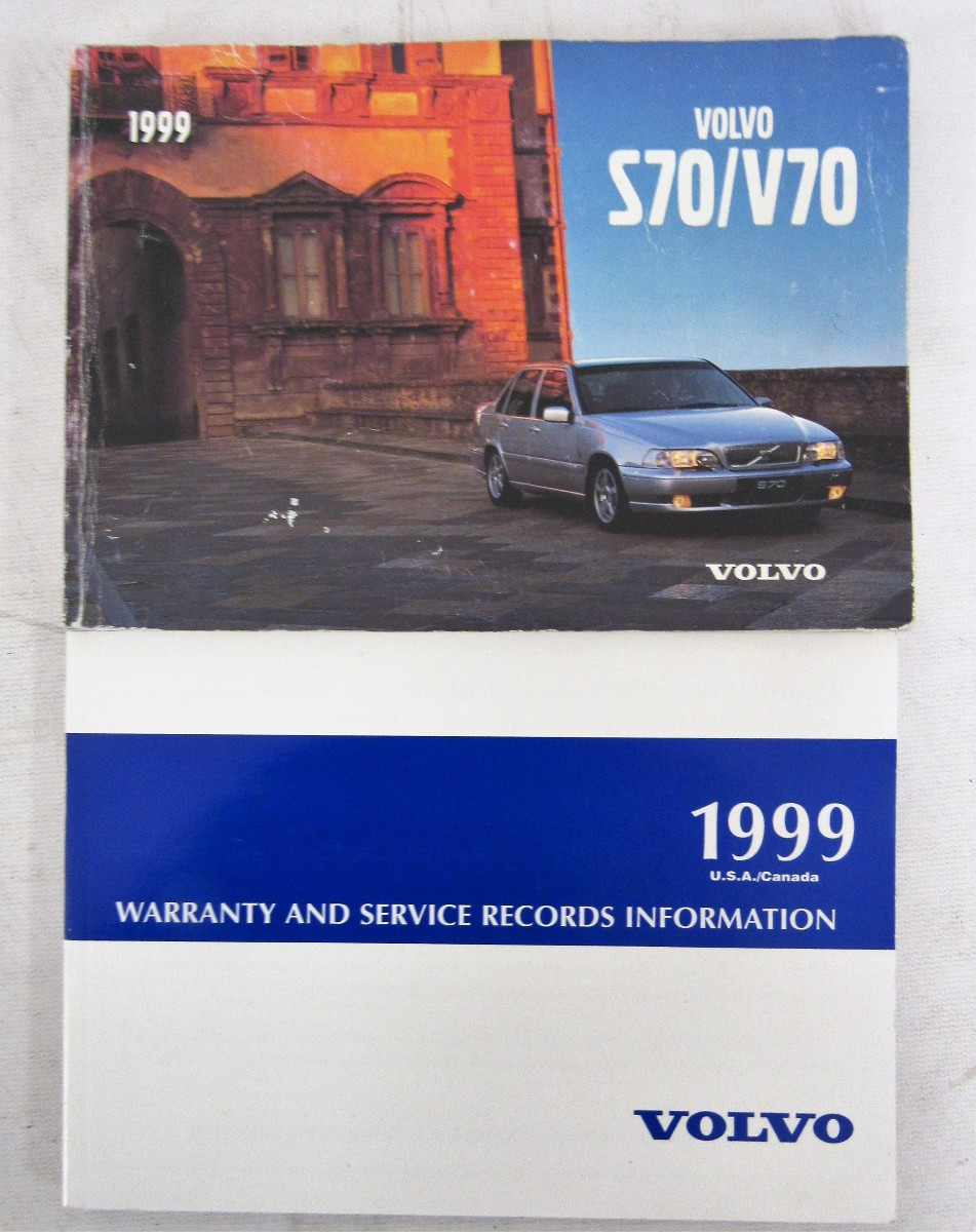 1999 volvo s70 v70 owners manual book bashful yak rh bashfulyak com Volvo S70 Engine Volvo S70 Engine