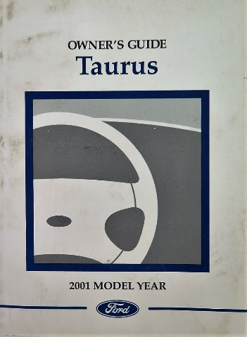 details about 2001 ford taurus owners manual book rh ebay com 2001 ford taurus service manual pdf 2001 ford taurus wagon owners manual