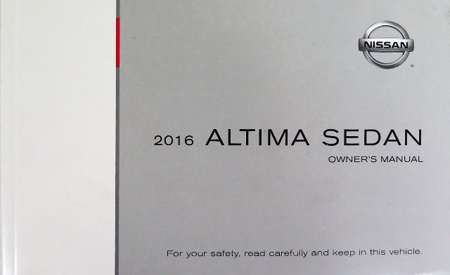 2016 nissan altima sedan owners manual book ebay rh ebay com nissan elgrand manual book pdf nissan elgrand manual book pdf
