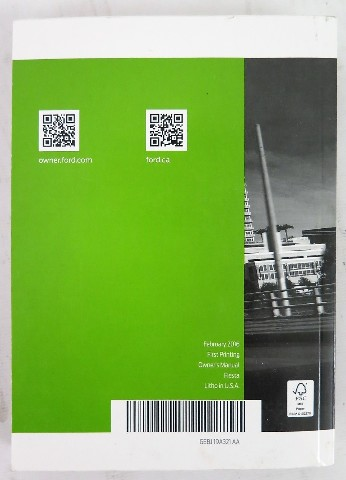 ford fiesta 2016 manual book