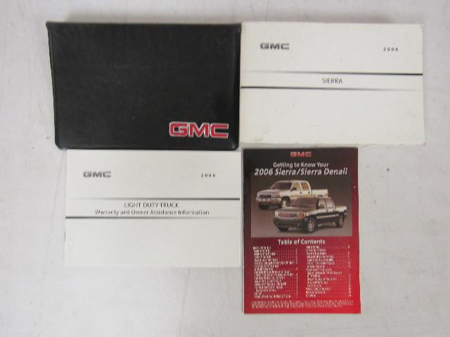 2006 gmc sierra owners manual book ebay rh ebay com 2006 gmc sierra 1500 owners manual 2006 gmc sierra 2500 owners manual