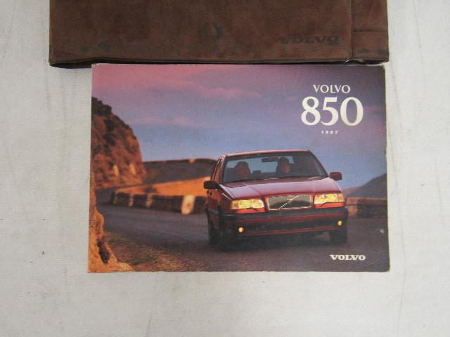 1997 volvo 850 owners manual guide book ebay rh ebay com