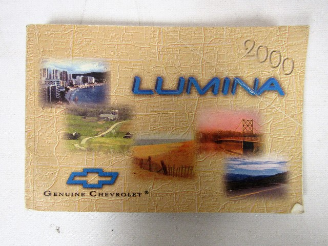 2000 Chevy Chevrolet Lumina Owners Manual Book