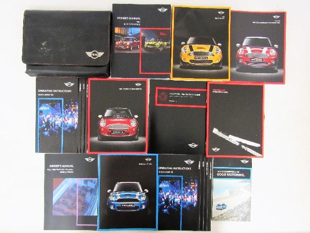 2010 mini cooper convertible owners manual book ebay rh ebay com 2010 mini clubman owners manual 2010 mini owners manual pdf