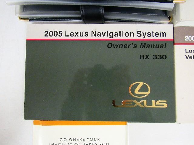 2005 lexus rx 330 owners manual guide book ebay rh ebay com 2005 lexus es 330 owners manual 2005 lexus es 330 owners manual pdf