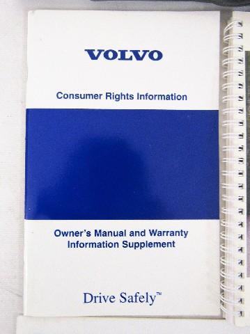 2002 volvo s60 manual book