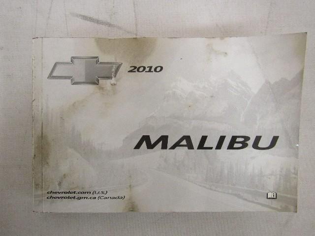 2010 chevy chevrolet malibu owners manual book ebay rh ebay com 2010 chevrolet malibu repair manual 2009 Chevrolet Malibu
