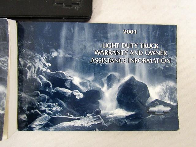 2001 chevy silverado owners manual