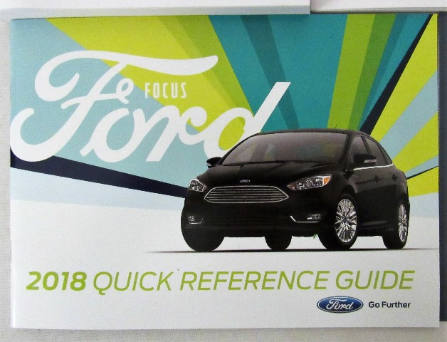 ford focus owners manual 2018