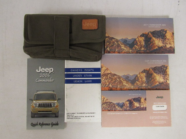 2006 jeep commander owners manual guide book bashful yak rh bashfulyak com 2006 jeep commander owners manual fuses 2006 jeep commander owners manual download free