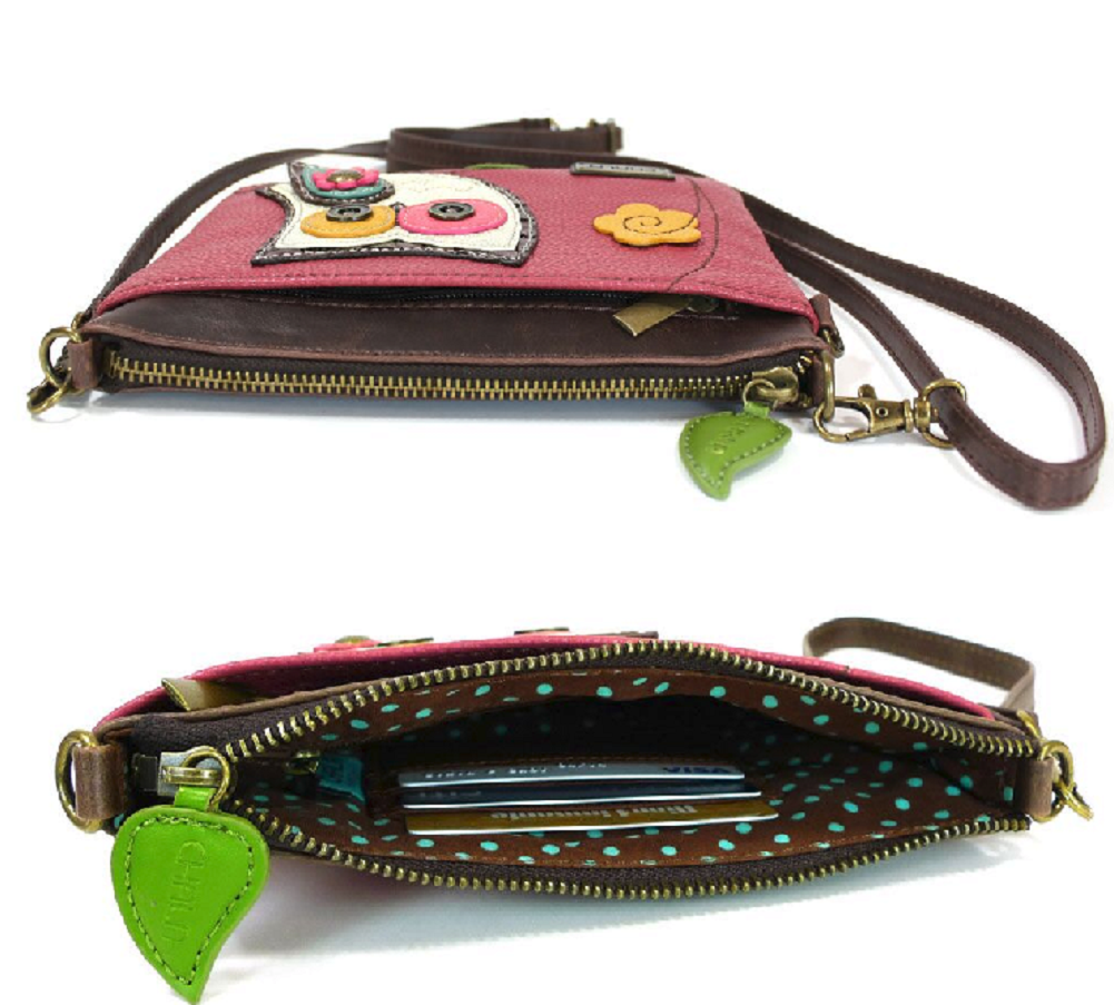 Charming Chala Hoot Hoot Owl Mini Crossbody Bag Handbag Purse