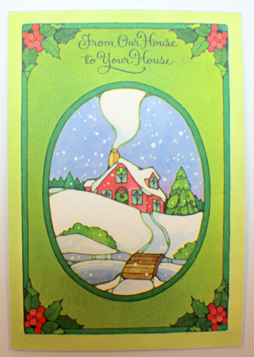 Drawing Board Greeting Cards From Our House To Yours Boxed Set Of 25