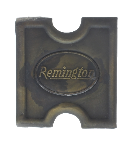 Anson Mills Belt Buckle Remington Guns Solid Brass Reenactments