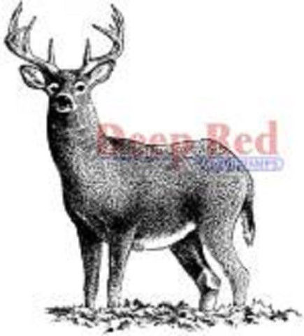 Buck Deer Wildlife Rubber Stamp J17407 WM