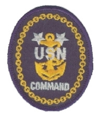 US Navy Command Uniform Patch