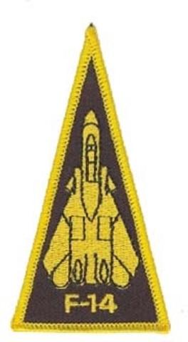 US Navy F-14 Fighter Jet Uniform Patch