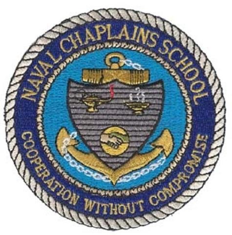 Naval Chaplains School Cooperation Without Compromise Uniform Patch