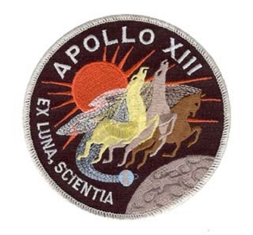 Apollo 13 Ex Luna, Scientia Uniform Patch