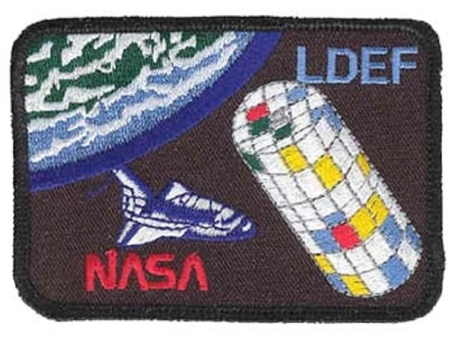 NASA Space Long Duration Exper Facility LDEF Uniform Patch