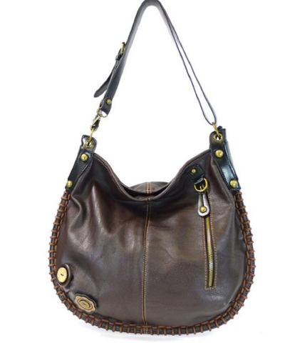 0a8f377214 Chala Purse Handbag Hobo Cross Body Convertible Chocolate Fat Cat ...