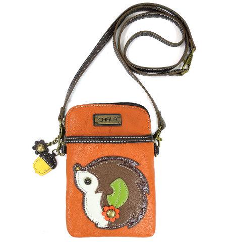 e6b1e370d02c Charming Chala Hedgehog Cell Phone Purse Mini Crossbody Bag