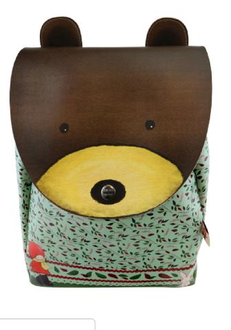 Santoro London Handbag Purse Poppi Loves Bear Animal Rucksack Backpack