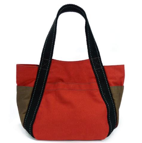 Chala Purse Handbag Leather   Canvas Carryall Tote Bag Sleepy Cat Kitten 08c63f878754a