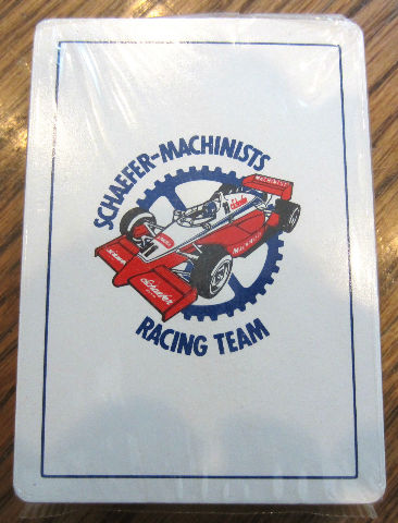 Schaefer-Machin Ists Racing Team Gemaco Deck Of Playing Cards New Sealed
