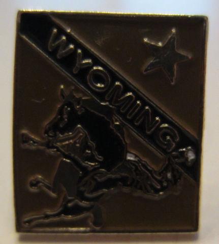 State Wyoming Hat Lapel Pin